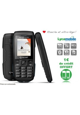 PACK LYCAMOBILE CROSSCALL DISCOVERY NOIR