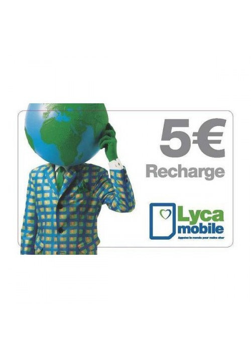 carte lycamobile