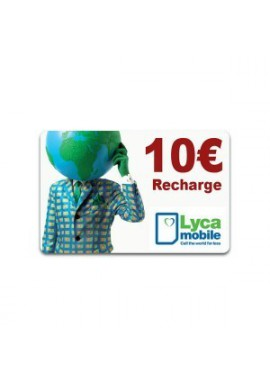 RECHARGE LYCAMOBILE 10€
